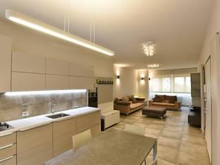 appartamento C+G - 2015 Cucina moderna di architetto Davide Fornero Moderno