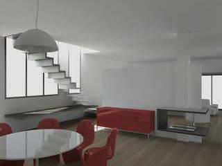 Un mare di relax Sala da pranzo moderna di FAD Fucine Architettura Design S.r.l. Moderno