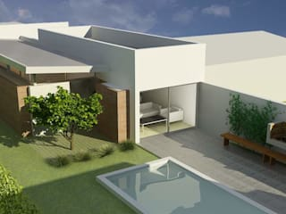 Houses by unoenseis Estudio, Minimalist