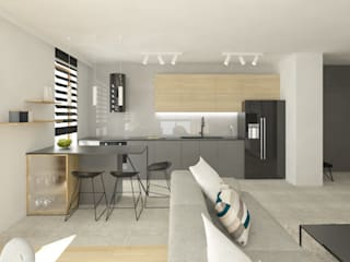 Modern kitchen by INNers - architektura wnętrza Modern