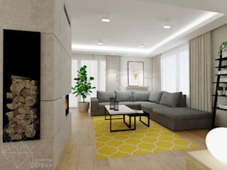 Living room by INNers - architektura wnętrza,