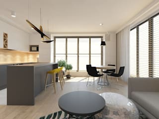 Dining room by INNers - architektura wnętrza,
