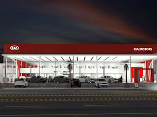 Kia Motors Cd Juarez Mx de Escala 1:1 Architect's Moderno