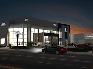 Ford / Lincoln Ciudad Juárez de Escala 1:1 Architect's Moderno