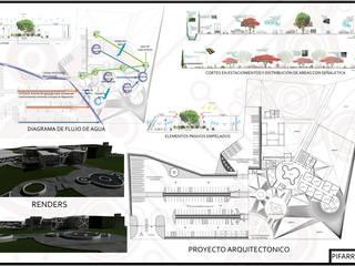 MUSEO DEL AGUA:  de estilo  por +R Arquitectos