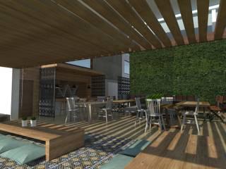 Salas de jantar modernas por Detalle Cúbico Moderno