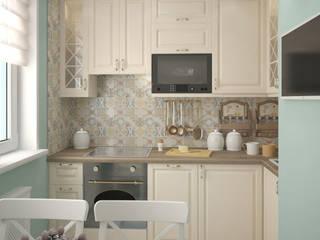 Квартира в классическом стиле ул. Братиславская: Кухни в . Автор – Архитектор-дизайнер Анастасия Ковальчук