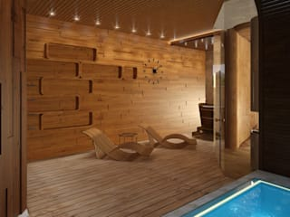 Spa: modern Spa by Design studio by Anastasia Kovalchuk