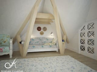 Classic style bedroom by Design studio by Anastasia Kovalchuk Classic