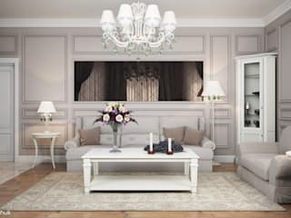 Villa: classic Living room by Design studio by Anastasia Kovalchuk