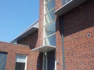 Woning Park Noord, Leidsche Rijn Moderne huizen van Architectenbureau van den Hoeven b.v. Modern