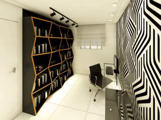 Bureau de style  par Daniela Simões Arquitetura e Interiores