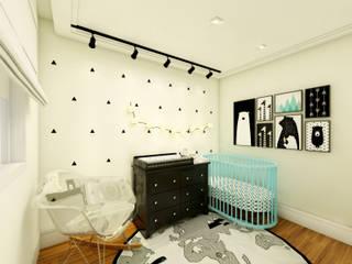 Chambre d'enfant de style  par Daniela Simões Arquitetura e Interiores