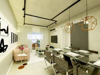 Salon de style  par Daniela Simões Arquitetura e Interiores