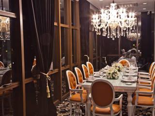 Restaurante tradicional com pegada moderna Espaços gastronômicos clássicos por Estúdio Glicério Weber Clássico