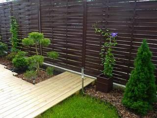 The Peaceful Gardens Giardino moderno PVC Blu