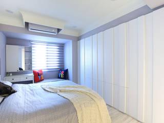 Country style bedroom by 微自然室內裝修設計有限公司 Country