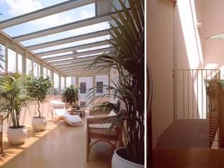 モダンスタイルの 温室 の Pietro Carlo Pellegrini Architetto モダン