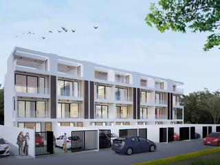 Häuser von No.13 Design, Modern