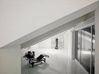 Restauro di Villa Recrosio oggi Benvenuti: Ingresso & Corridoio in stile  di Pietro Carlo Pellegrini Architetto