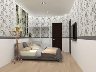 No.13 Design Eclectic style bedroom