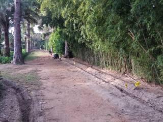 Instalación de riego automático en Casa Santonja : Jardines de estilo  de Electrobombas Jávea