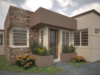 Casas de estilo  por Estudio Barrios Astuto