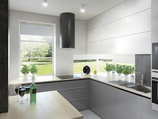 Minimalist kitchen by hanczar studio Minimalist