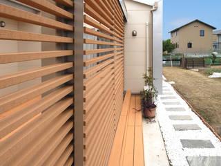 Modern Terrace by Ju Design 建築設計室 Modern