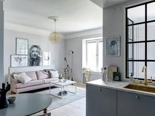 Living room by Design for Love, Scandinavian