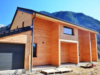 Maison ossature  bois ORLU 09.: Maisons de style de style Scandinave par Falco Construction Bois