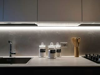 مطبخ تنفيذ SPAZIODABITARE architects, حداثي