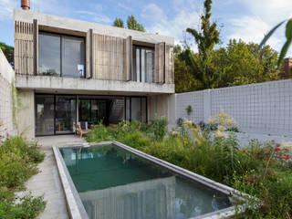 Casa MeMo - VIVIENDA UNIFAMILIAR ICONO DE LA SUSTENTABILIDAD Casas modernas: Ideas, imágenes y decoración de BAM! arquitectura Moderno Hormigón