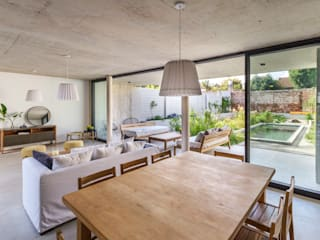 Modern Dining Room by BAM! arquitectura Modern Concrete