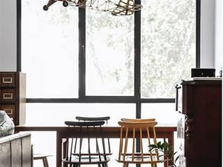 Loft en Poblenou :  de estilo  de Alex March Studio