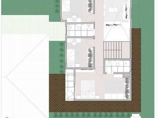 Casa Santos Casas modernas por Rafaella Vessoni - Projete-se Arquitetura e Interiores Moderno