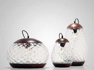 JAR table lamps:   por PURA MESTRIA