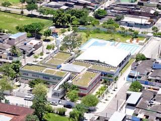 E.E. Erich Walter Heine Escolas modernas por Arktectus Arquitetura Sustentável Moderno