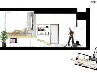 CASA PRIVATA 04 – ristrutturazione d'interni :  in stile  di 81millimetri