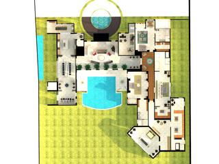 Casas modernas de Interiorista Teresa Avila Moderno