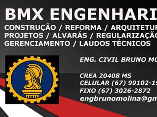 러스틱스타일 주택 by BMX Engenharia 러스틱 (Rustic)