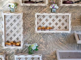 La Panadería Macizo Carpintería Centros comerciales de estilo rústico