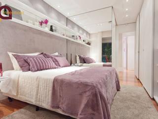 LA Interiores Modern style bedroom MDF Purple/Violet