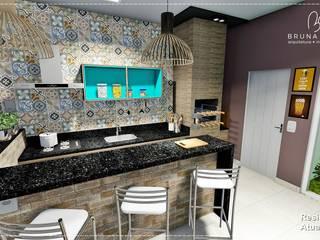 Área de Lazer Garagens e edículas rústicas por BRUNA MARTINS Arquitetura + Interiores Rústico