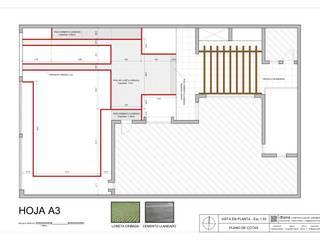 Anteproyecto Jardín Müller: Jardines de estilo  por Dhena CONSTRUCCION DE JARDINES,Moderno