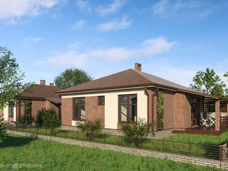 Типовой дом в Подмосковье - 108 кв.м. от Архитектор Тимофей Раков
