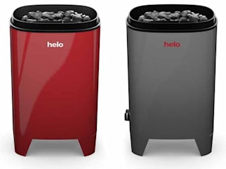 Calefactores para sauna modelo Fonda Duo: Spa de estilo moderno de Saunas Durán
