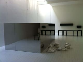 CUCINA NIDO Cucina moderna di studio di architettura DISEGNO Moderno