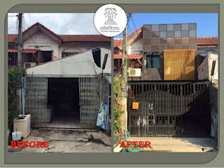 โครงการปรับปรุงที่พักอาศัย 2 ชั้น โดย เปรมินทร์วิศวกรรม