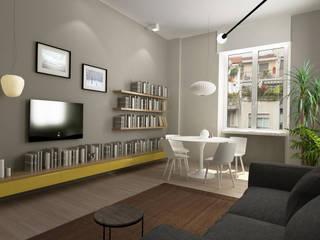 Casa Matilde Sala da pranzo moderna di Euga Design Studio Moderno